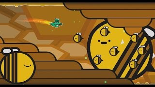 [Geometry dash 2.1] - 'B' by motleyorc & ScorchVx (All Coins)