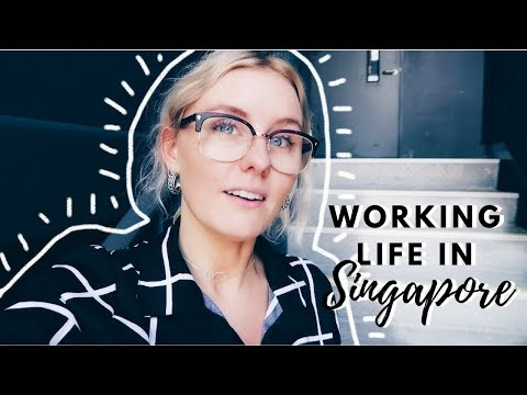 A WEEK IN MY LIFE WORKING IN SINGAPORE!