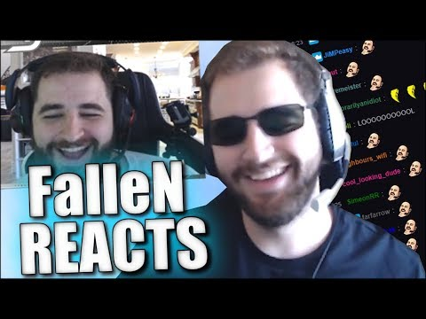 FALLEN REACTS TO SK Gaming After Roster Changes (CS:GO)