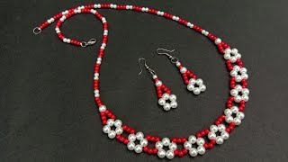 How To Make//Pearl Necklace//At Home//Necklace DIY// Useful & Easy