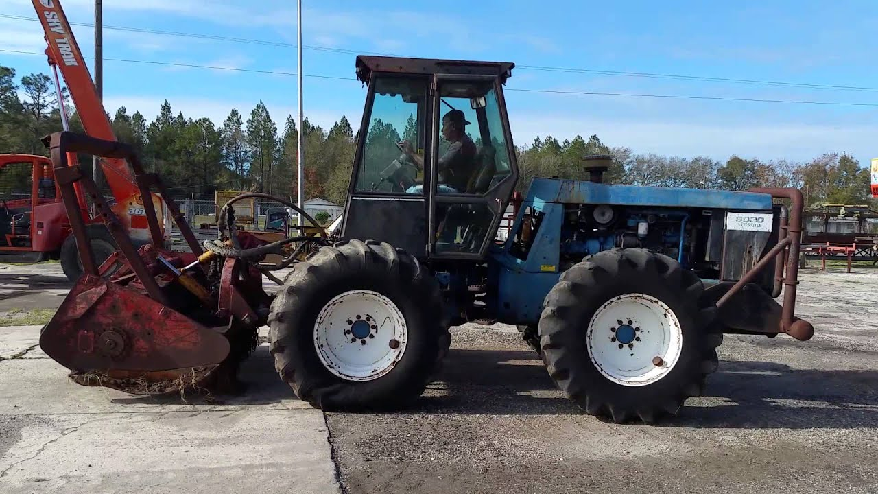 New Holland Tractor People : Ford new holland versatile tractor youtube