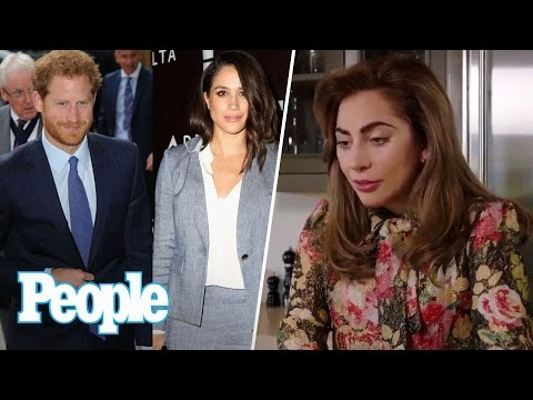 Lady Gaga & Prince William On Mental Health, Prince Harry's Wedding Date Plans | People NOW | People