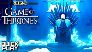 Reigns: Game of Thrones Gameplay! (Quick Play)