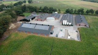 G2 Energy levert zonneboiler aan kalverhouder in Dalfsen