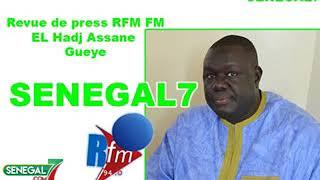 Revue de presse Rfm du 25 avril avec El Hadji Assane Gueye