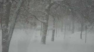 Watching it snow in Great Falls Montana.wmv