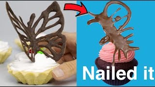 Trying 20 Chocolate Decor Ideas by 5 minute crafts