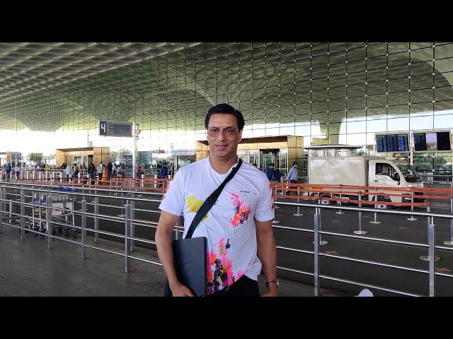 Madhur Bhandarkar Spotted At Airport