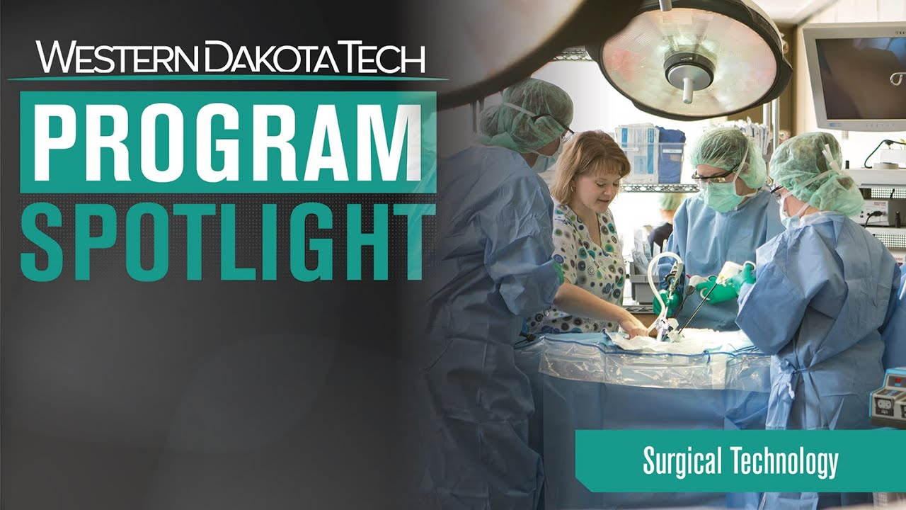 Surgical Technology Degree Health Science Program Western Dakota Tech