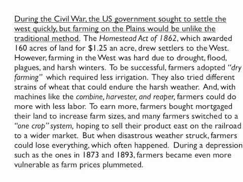 Long essay farmers 19th century