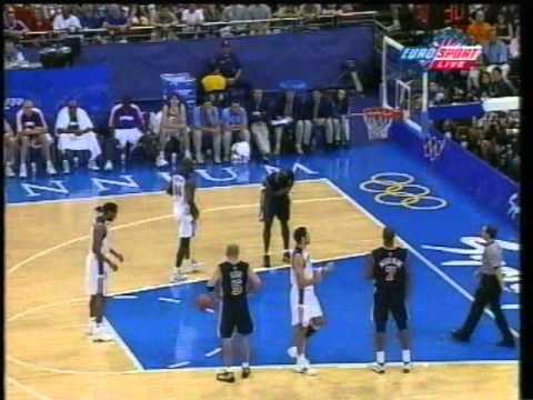 2000 Olympics Men's Basketball Final, USA vs France [1 of 2]