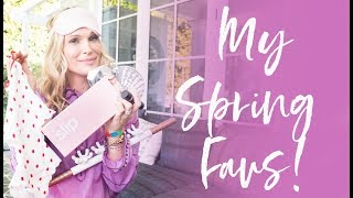 MY SPRING FAVORITES! | Molly Sims 2018