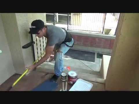 How To Paint A Concrete Porch Part 1