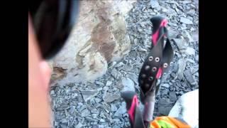 Skiing Blackwood Canyon on July 2, 2014