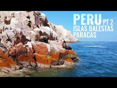 Peru Pt 2: Islas Ballestas Paracas. Poor Mans Galapagos
