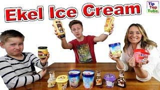 Ekel Ice Cream Challenge TipTapTube