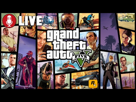 Grand Theft Auto LIVE + Come get shot at