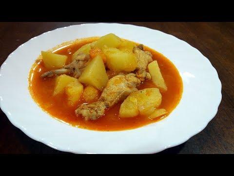 pileci krompir paprikas recept