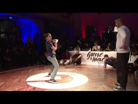 GROOVE'N'MOVE BATTLE 2015 - Tutting Final / Leïla vs Smoothie-H