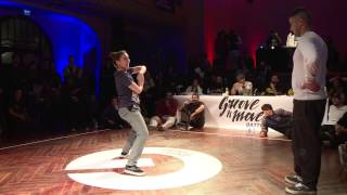 GROOVE'N'MOVE BATTLE 2015 - Tutting Final / Leïla vs Smoothie-H