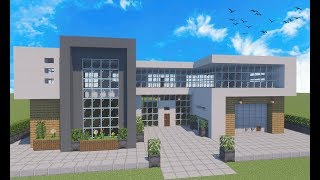 Minecraft Tutorial - Casa Moderna para Survival Avançado