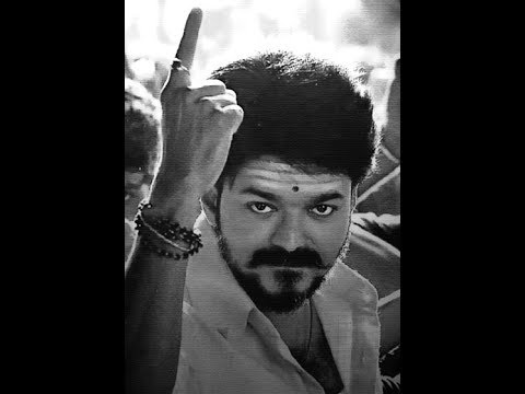 Mersal Vijay First Look Drawing - YouTube