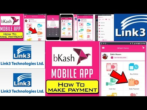 how to payment link3 bill by bkash app