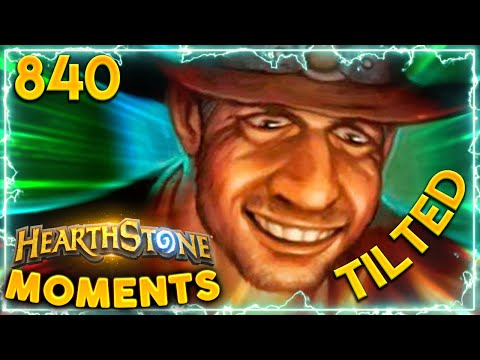 YOU DON'T WANT TO MAKE HIM MAD | Hearthstone Daily Moments Ep.840