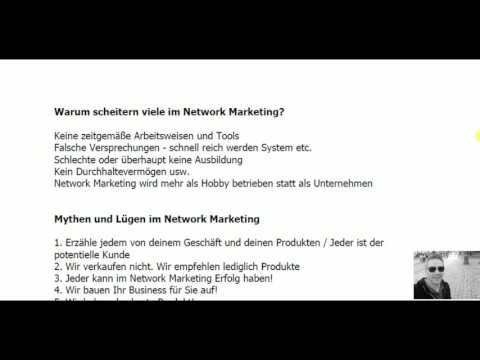 Network Marketing - Das 1x1 des Network Marketing-Eine kurze Zusammenfassung