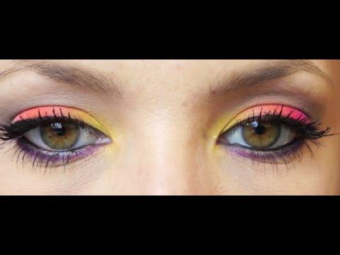 Copie de Maquillage Fluo/Néon Orange/Rose
