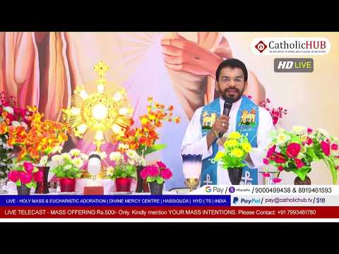 HOLY MASS |  FREEDOM FROM SIN PART 2 | REV.FR.BENNY SVD | DMC | HABSIGUDA | HYD | 12-05-2020