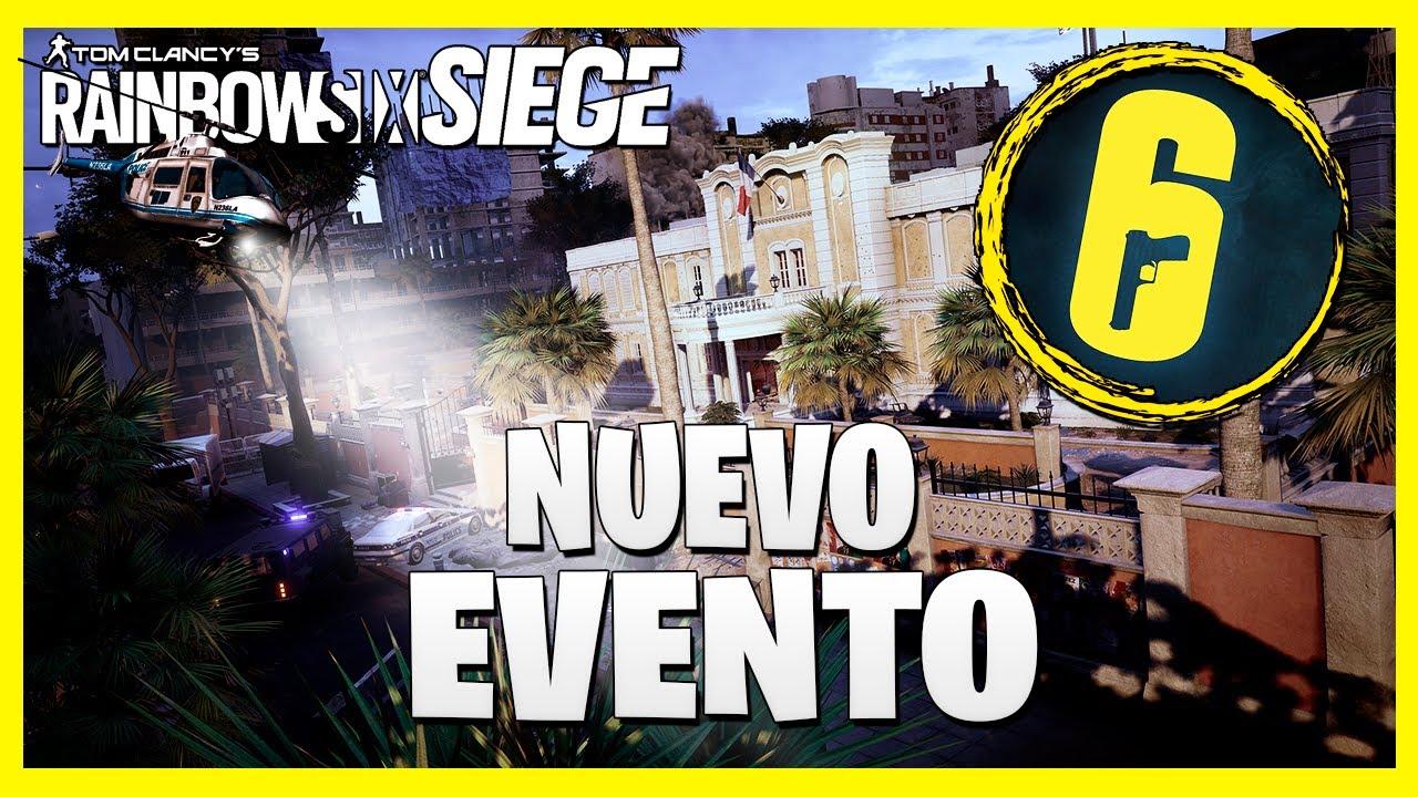 FECHA *NUEVO* EVENTO ANUNCIADO de RAINBOW SIX SIEGE