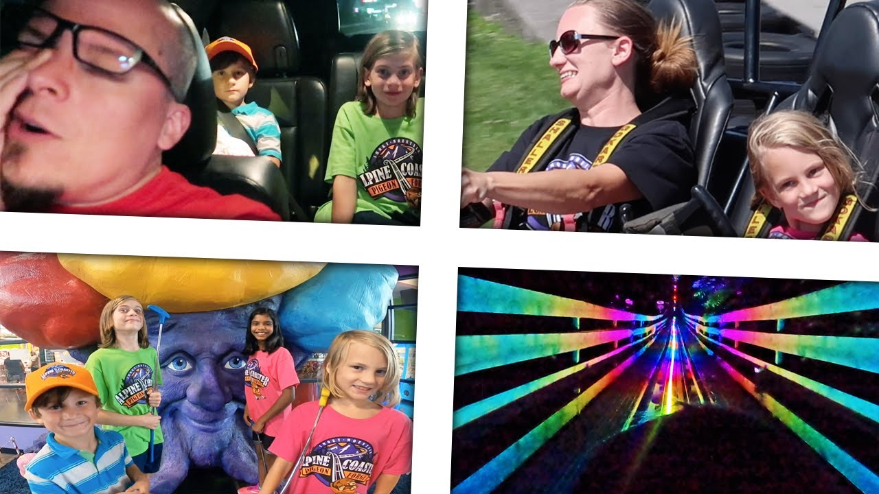 Crazy Parents Take their Kids on a Super Fun Family Day