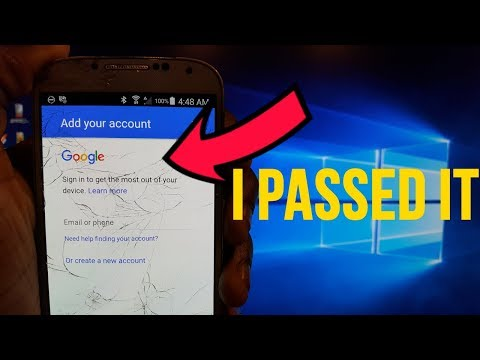 How To Bypass The Google Account Lock (FRP) on Any Samsung Device
