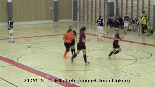 Naisten futsal-liigakarsinta 2019 / Ylöjärven Ilves vs. MadMax maalikooste 30.3.2019