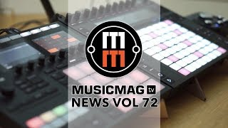 News 72: Bob Pad, CRAFT rhythm, Bitwig studio 2.2, тренажер Melodics и др.