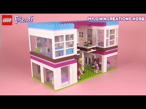 Mansion 003   LEGO Friends My Own Creations #098