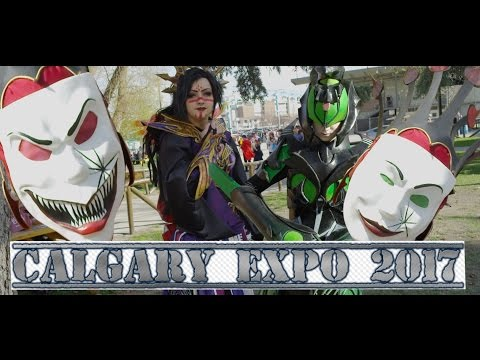 Calgary Expo & Entertainment Cosplay showcase 2017 4K