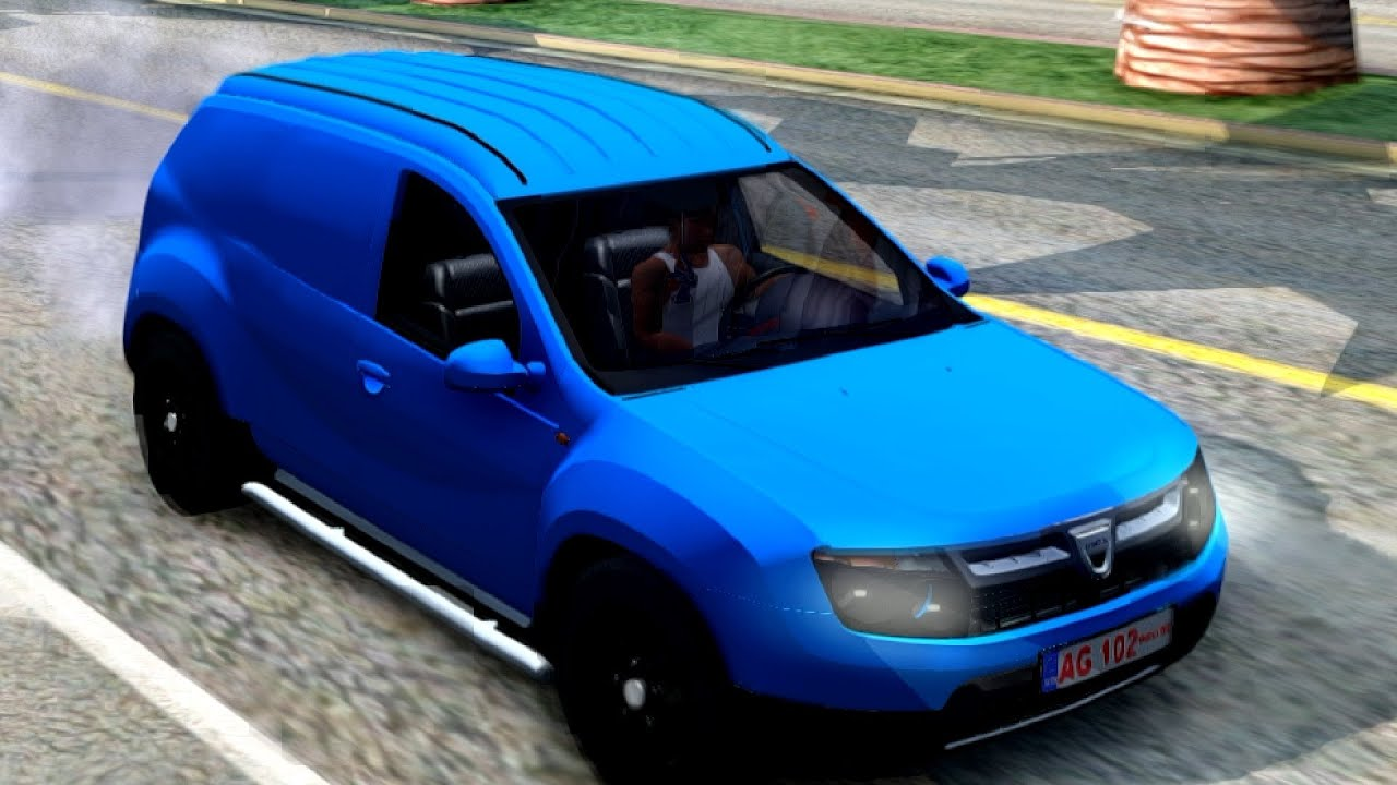 dacia duster van 34 new cars vehicles 6 to gta san andreas enb youtube. Black Bedroom Furniture Sets. Home Design Ideas