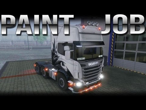 Paint Job - Euro Truck Simulator 2 with Track IR