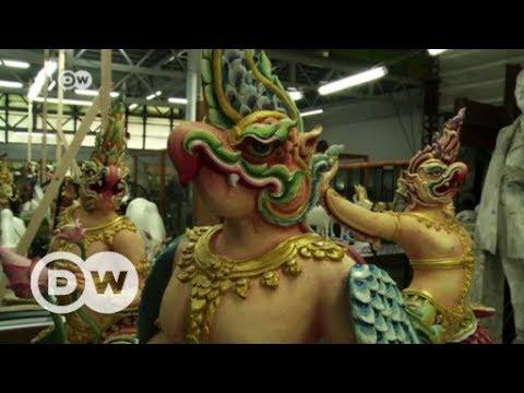 Thai king's body set to be cremated   DW English