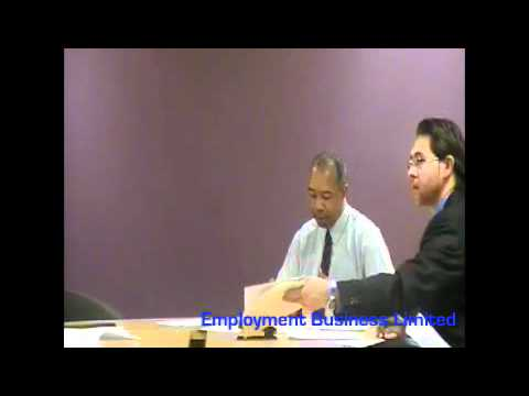 Employment business limited   SRA Questions & Rebuttals