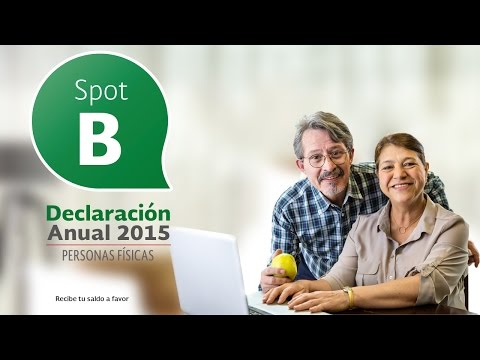 Spot B: Declaración Anual