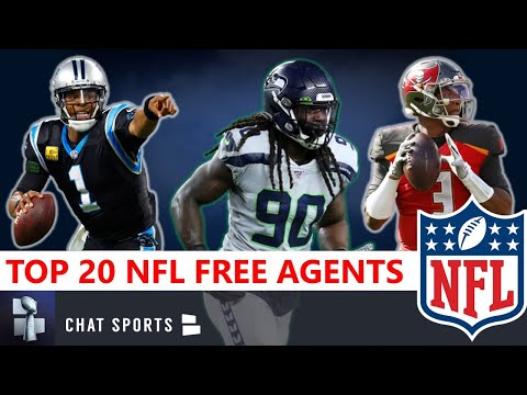 Top 20 NFL Free Agents In 2020 - Still Available In Free Agency