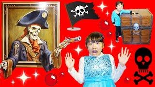 ★「ひめちゃんがガイコツ海賊に~!」横浜トリックアートクルーズ★Yokohama Trick Art Cruise★ thumbnail