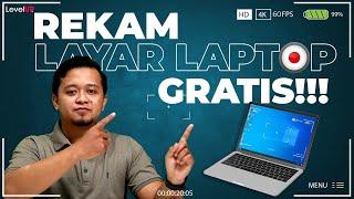 Cara Merekam Layar Laptop Dengan OBS Gratis 2020