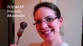Recipe: Paleo Meatballs {fodmap Friendly}