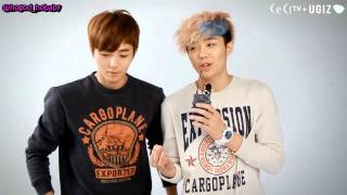 [HD ENG SUB] 120921 테이스티 (TASTY) Interview for CeCi and UGIZ