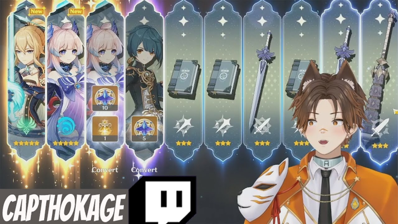 Genshin Impact Streamers Roll On The Kokomi Banner #4