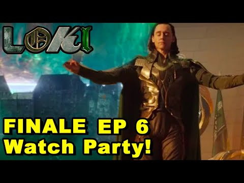 LOKI EPISODE 6 FINALE WATCH PARTY REACTION & DISCUSSION!
